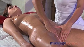 Massage-Rooms-Clit-rub-for-her-orgasm-with-masseuse
