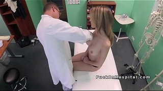Big-cock-doctor-examines-patients-cunt-in-fake-hospital
