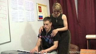 Russian-mature-teacher-10---Elise-(piano-lesson)