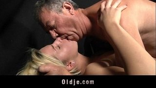 Dumped-blonde-fucks-old-man-to-calm-down-her-horny-pussy