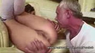 Asslicking-18-years-Old-with-Grandpa