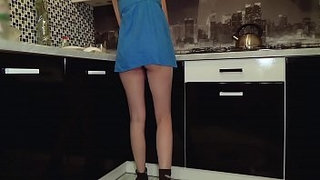 Young-teen-without-panties-got-caught-on-spy-cam