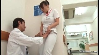 Horny-Japanese-nurse-gets-seduced-in-the