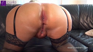 Submissive-slut-hard-Ass-fucked-by-a-brutal-men-horde,-including-extreme-filling-with-sperm-and-piss!