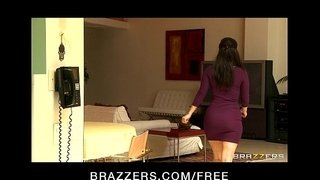 Dominant-big-tit-wife-Bridgette-B-fucks-her-Latina-maid-Reena-Sky