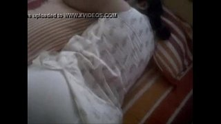 big-ass-indian-wife-sleeping-in-tight-leggings-clear-butt-show