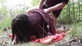 Slutwife-Marion-gets-creampied-by-plenty-of-guys