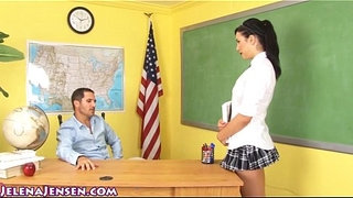 School-Girl-Jelena-Jensen-Gets-Facial-for-Extra-Credit!