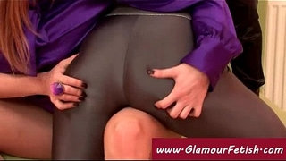 Lesbians-in-spandex-leggings-share-a-toy