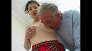 Cute-Teen-Daughter-Fucked-by-Horny-Old-Dad