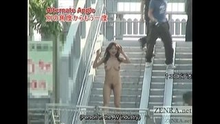 Subtitled-busty-Japanese-public-nudist-goes-for-a-walk