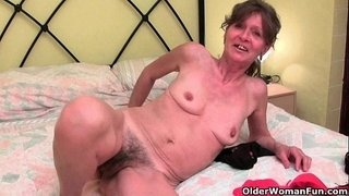 Hairy-granny-gets-her-saggy-tits-and-furry-hole-fondled