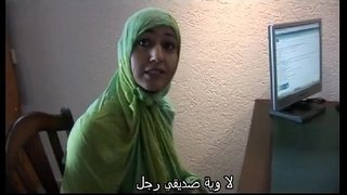Moroccan-slut-Jamila-tried-lesbian-sex-with-dutch-girl(Arabic-subtitle)