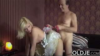 Young-girl-seduces-old-man-she-gets-fucked-sweet-tight-pussy-and-asshole