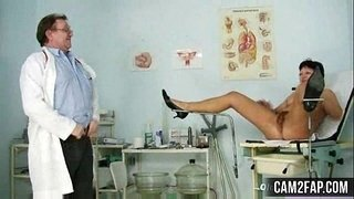 Mature-Woman-Eva-Visits-Gyno-Doctor-to-get-Gyno-Mature