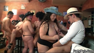 Group-fat-orgy-in-the-pub