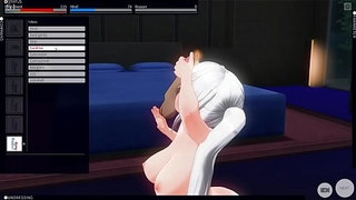 Nakiri-Alice-love-to-blow-his-master-3---Custom-Maid-3D-2