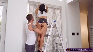 Exotic-asian-beauty-gets-doggy-fucked-on-a-ladder
