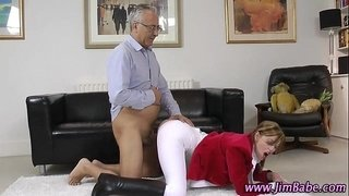 Amateur-stockings-gets-creampie