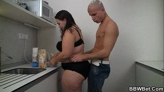 Cooking-BBW-gets-lured-into-cock-riding