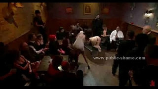 Tied-sex-slave-with-large-breasts-extreme-bondage-group-sex-in-public-club-video
