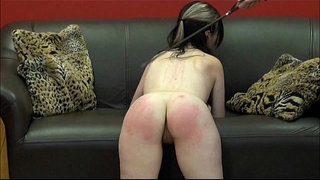Faes-bare-ass-spanking-and-corporal-punishment-of-striped-amateur-slave-in-sever