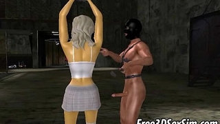Tied-up-3D-cartoon-blonde-babe-getting-fucked-hard