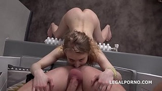 Mr.-Anderson's-Anal-Casting,-Light-Fairy-first-time-anal-with-rough-action,-Gapes-and-Cum-in-mouth-GL105