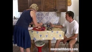 Mature-Stepmom-Serving-Pussy-In-Breakfast-To-Her-Stepson