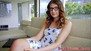 Teen-stepsister-slam-pov